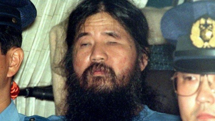 Shoko Asahara, líder del culto japonés Aum Shinrikyo