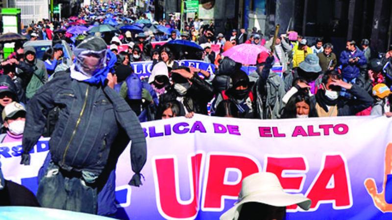 UPEA: Para terminar el conflicto, Gobierno espera que universitarios rebasen a sus dirigentes