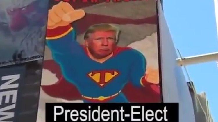 El video de Trump presidente recibió cientos de miles de likes en pocas horas