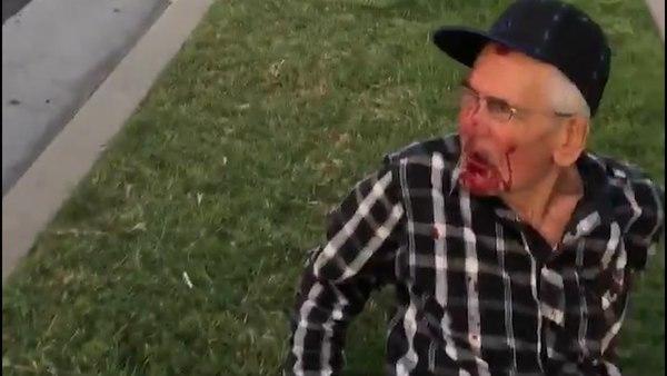 Golpean en Estados Unidos a hombre mexicano de 92 años