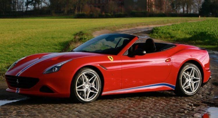 Imagen de promoción del Ferrari California 2016. No está claro cuál era el color del que conducía Gignac.