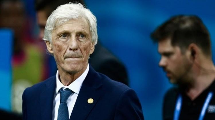 Pekerman podría de dejar de ser el entrenador de Colombia (AFP)