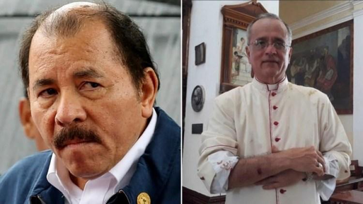 Monseñor Silvio Báez fue uno de los heridos