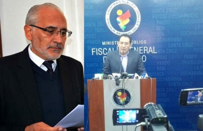 El fiscal General, Ramiro Guerrero (c), anunció la presentación del requerimiento acusatorio.