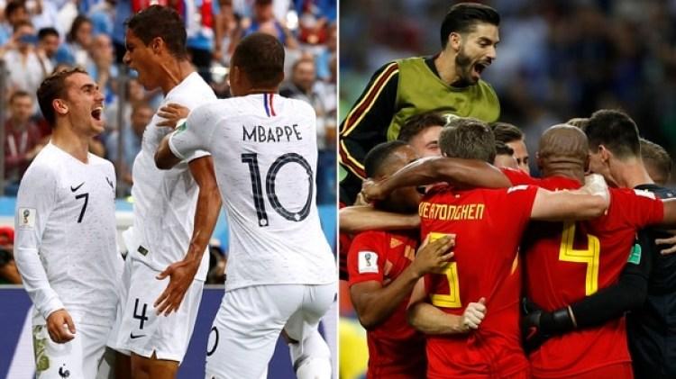 Francia y Bélgica buscarán un lugar en la final de Rusia 2018