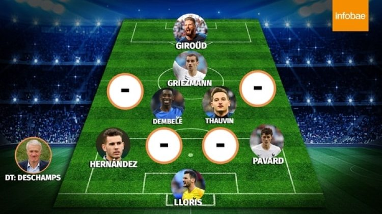 El equipo de Francia