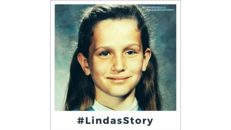 La policía de Newport Beach utilizó Twitter para contar la historia de Linda O'Keefe (Cortesía de Newport Beach Police Department)
