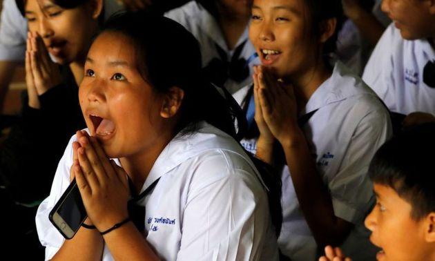 Felicidad plena en Tailandia. Internet