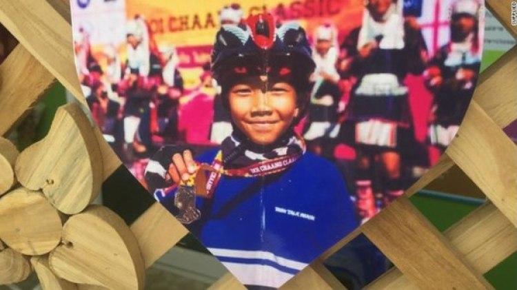 """Chanin Viboonrungruang , de 11 años, es el jugador más joven de los """"Jabalíes Salvajes"""""""