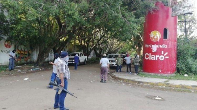 Los grupos paramilitares utilizan armas de guerra en Nicaragua (La Prensa)