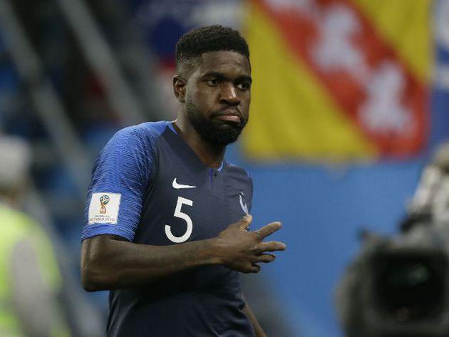 Samuel Umtiti fue elegido el mejor jugador del Francia vs Bélgica