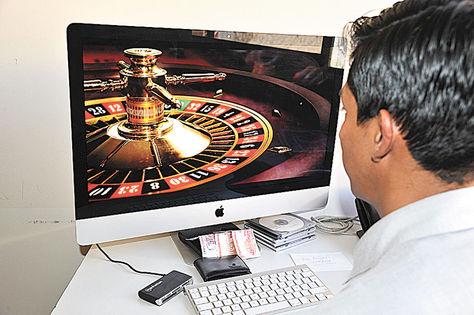 Juegos de casino en línea.