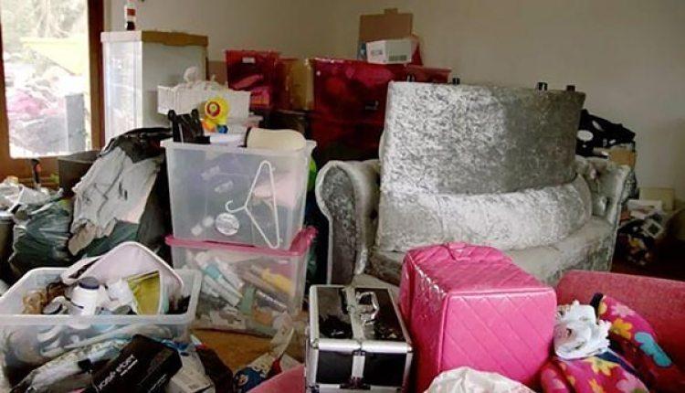 El desorden de la mansión de Katie Price