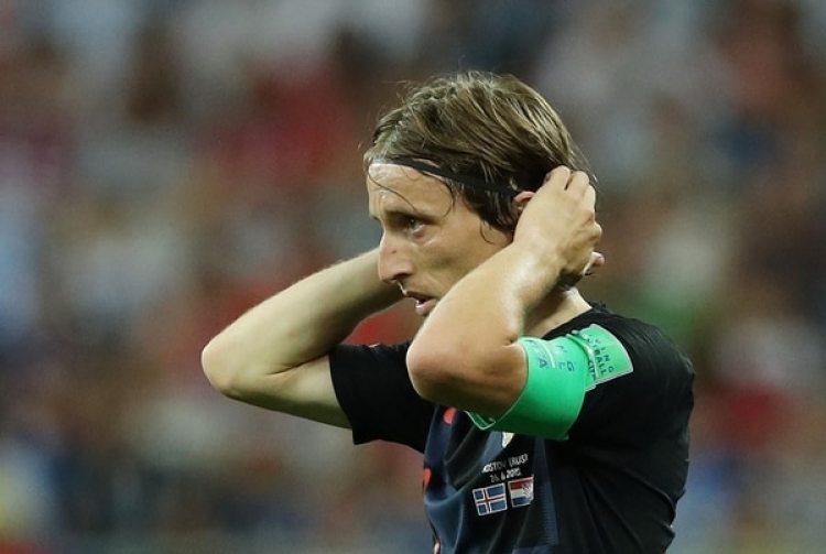 Luka Modric es el capitán y líder futbolístico de Croacia (REUTERS/Albert Gea)