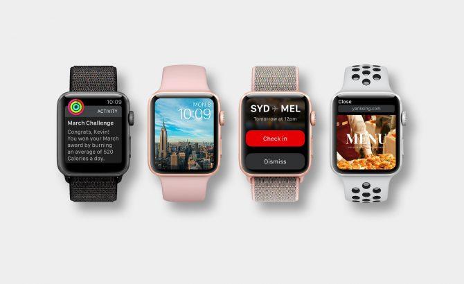 Cómo será la pantalla del futuro Apple Watch Series 4