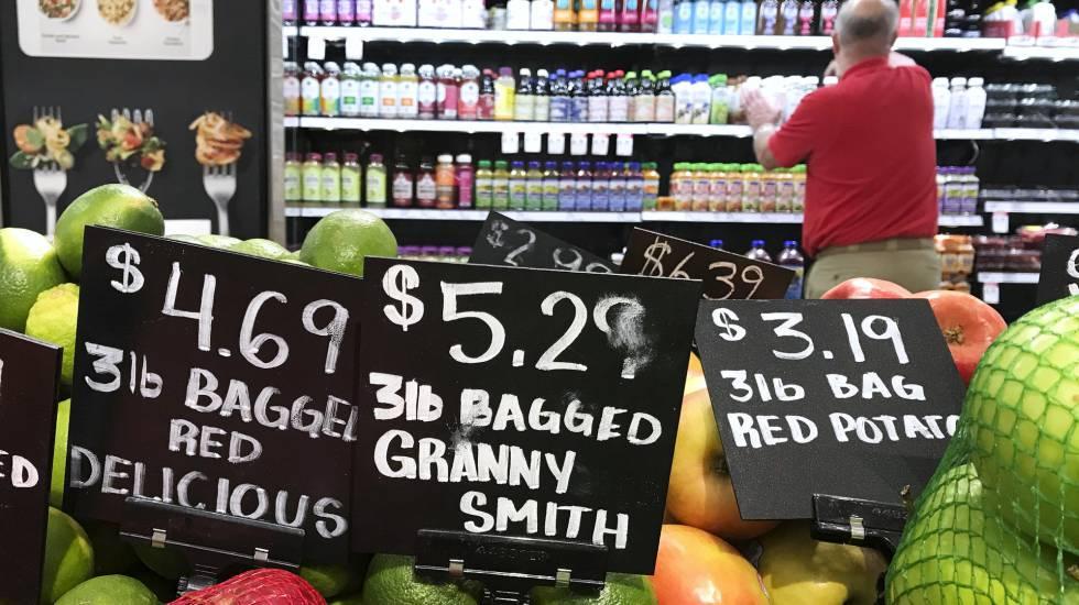 Un supermercado de la localidad de Aventura, en Florida
