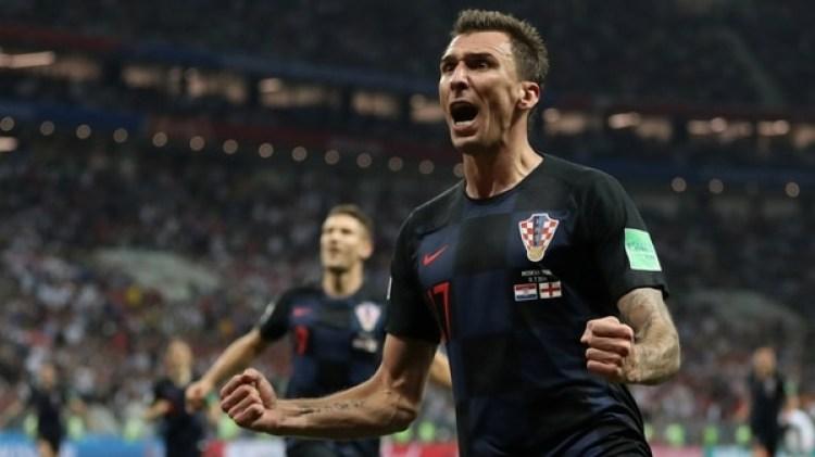Mario Mandzukicfue el héroe de Croacia en la semifinal del Mundial ante Inglaterra (REUTERS)