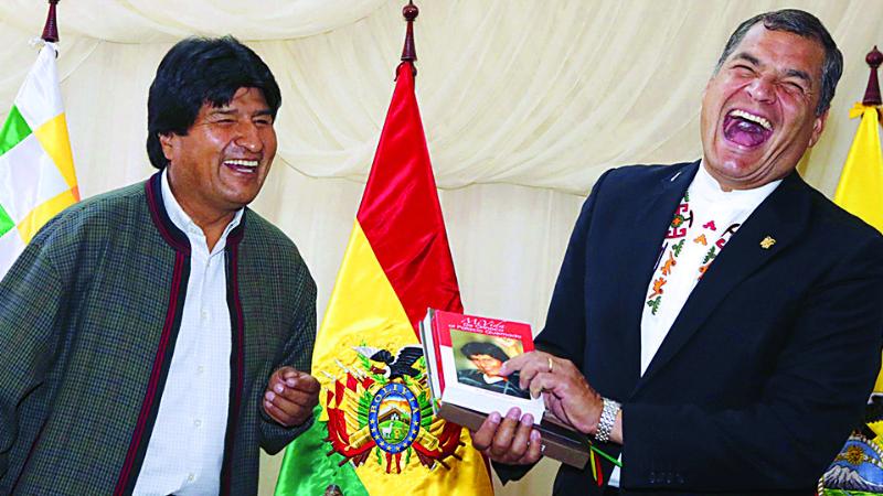 """Advierten que Evo viola derecho internacional y """"aísla"""" a Bolivia"""