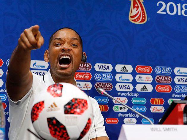 Will Smith defendió a Neymar y se inclinó por Cristiano Ronaldo