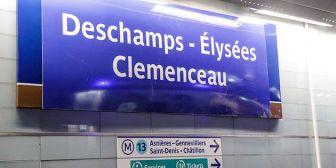 Cambiaron de nombre a estaciones de metro de París
