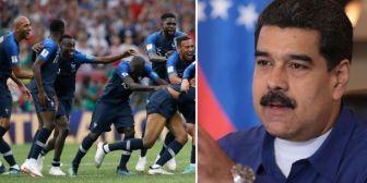 """Nicolás Maduro sobre triunfo de Francia: """"ganó Africa realmente"""""""