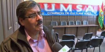 Rector de la UMSA exhorta a policías y militares a servir a Bolivia y no a un Gobierno