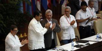 """Maduro y Morales señalan como """"enemigos"""" a EEUU y Trump en Foro de Sao Paulo"""