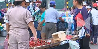 Ambulantes culpan a dirigentes por asentamientos en antiguo mercado La Ramada