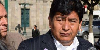 Diputado Montaño pide disculpas por encapuchados del MAS