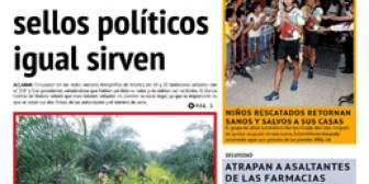 Periódico La Estrella del Oriente – Edición del jueves 19 de julio de 2018