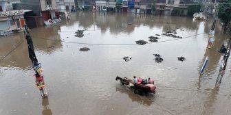 Derretimiento de glaciar provoca inundaciones en Pakistán