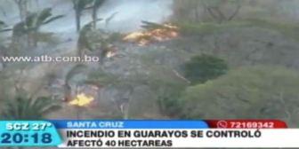Gobernación de Santa Cruz registró 1.880 focos de calor durante el mes de julio