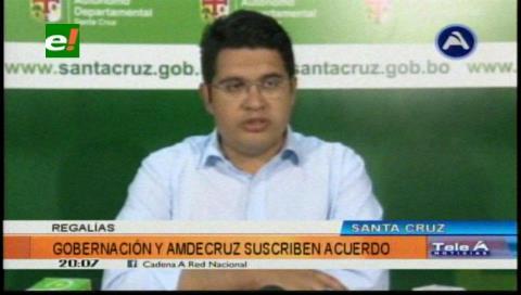 """Vladimir Peña: """"Seguiremos fortaleciendo la inversión pública municipal""""."""