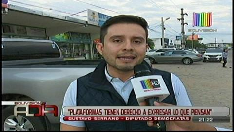 Serrano: El MAS intenta amedrentar a las personas que se manifiestan por el 21-F