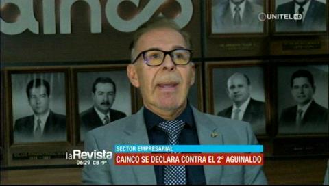 Doble aguinaldo: Cainco pide una reunión con el Gobierno y trabajadores