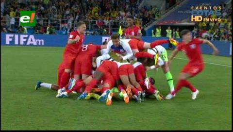 Colombia fuera del Mundial al perder con Inglaterra en los penales