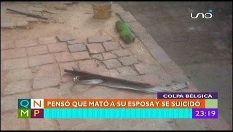 Santa Cruz: Se quitó la vida pensando que victimó a su pareja