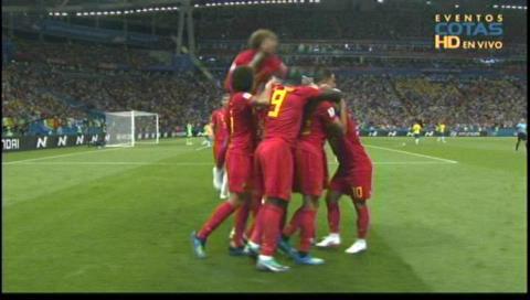 Bélgica 2-0 Brasil: Resumen del primer tiempo