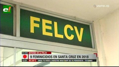Felcv: El 31% de casos de violencia en Bolivia se registran en Santa Cruz
