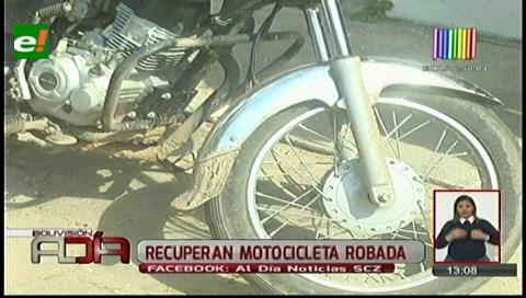 Capturan a ladrón de motocicletas