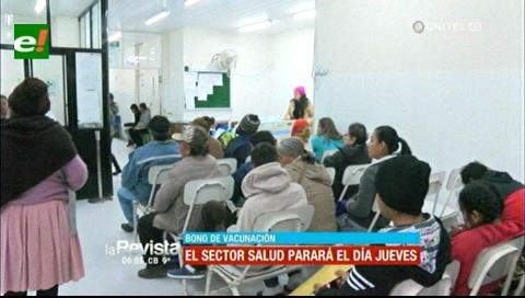 Santa Cruz: Sector salud continúa en emergencia y anuncia paro