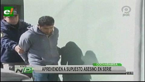 Capturan a presunto asesino de cuatro mujeres tras cinco años de busqueda