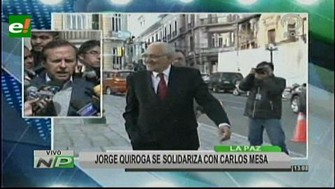 """Tuto: Mesa es víctima de la """"guillotina judicial"""" masista"""