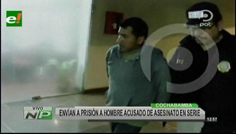 Asesino en serie es enviado a la cárcel de El Abra