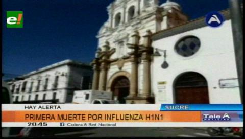 Sucre: Primera muerte por influenza H1N1