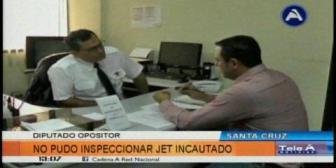 Dorado: Jefe del aeropuerto El Trompillo confirma que jet lujoso se encuentra en manos de la DGAC