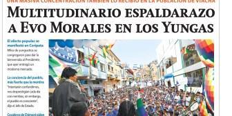 Portadas de periódicos de Bolivia del miércoles 11 de julio de 2018