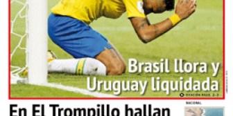 Portadas de periódicos de Bolivia del sábado 7 de julio de 2018