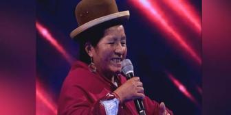 María Condori, la mujer de 65 años que conmovió al jurado de Factor X Bolivia (video)