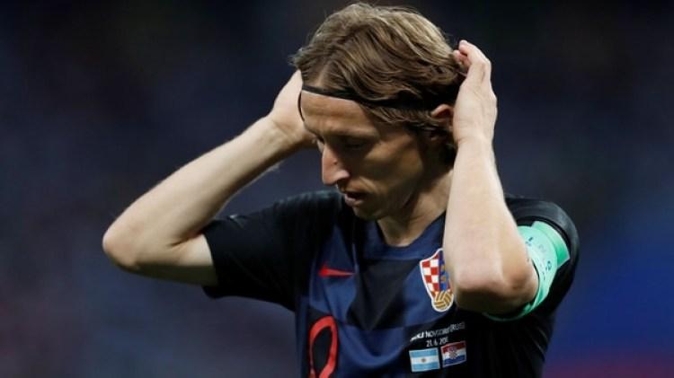 Modric fue clave en el desempeño de Croacia durante e Mundial